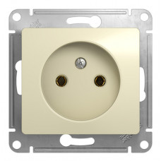 GLOSSA Механизм розетки 1 м б/з бежевый GSL000241 Schneider Electric