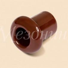 Изолятор Мезонинъ D19x24 коричневый фарфор универсальный