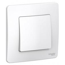 BLANCA скрытой установки одноклавишный выключатель (cх.1), 10A, 250B, белый