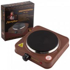 Электроплитка Матрена МА-061, 1 конфорка, диск, 1кВт, коричневая 6057