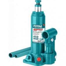 Домкрат TOTAL гидравлический бутылочный 2т THT109022