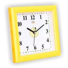 Часы-будильник IRIT IR-606, 16*5*16см, настен. крепл., пластик (AA*1шт нет в компл.)