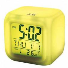 Часы-календарь IRIT IR-600 7 подсветок термометр (AAA*3шт нет в компл)