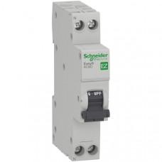 Выключатель автомат дифф.16A 1П+Н 30MA 4,5кА C EASY 9 Schneider Electric