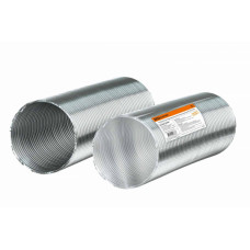 Воздуховод гофрированный алюминиевый d=100 TDM