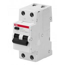 Выключатель автоматический дифференциального тока 1P+N 25А C 4.5kA 30мA AC BMR415C25