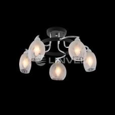 Люстра LV 8613/5 E14 60Вт хром/черный