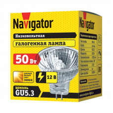 Лампа галогенная GU5.3 50Вт 230В Navigator