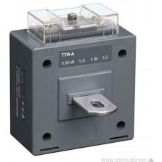 Трансформатор тока ТТИ-А 150/5A с шиной