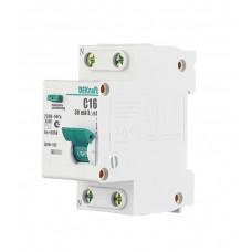 Schneider Electric DEKraft авт. выкл. диф. тока ДИФ-102 1P+N 20А/30мА элек. УЗО тип AC 4,5кА 16004