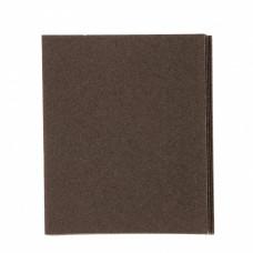 Шлифлист на тканевой основе, P 60, 230 х 280 мм, 10 шт., влагостойкий// Сибртех