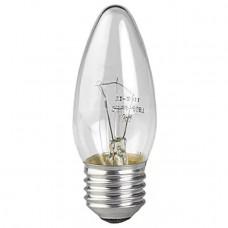 Лампа накаливания СВЕЧА прозрачная 60Вт Е27 гофра ЭРА