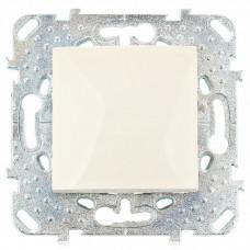 UNICA Механизм Переключателя 1кл в рамку бежевый Schneider Electric