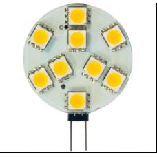 Лампа светодиод.G4 3Вт 12В 4000K JC 240Lm силикон/прозрачный LB-422 Feron
