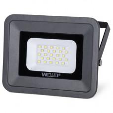 Прожектор светодиодный 30Вт 5500К IP65 SMD WFL-30W/06 WOLTA