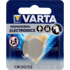 Элемент питания CR2032 3В 1шт/блистер VARTA