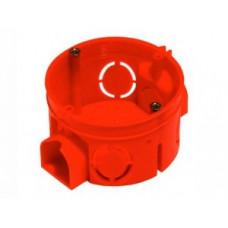 Коробка установочная д/бетона 68х42мм HEGEL КУ1101 блочная красная