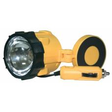 Фонарь автомобильный 6001LED 12V желтый/пластик магнит шнур 3 м КОСМОС
