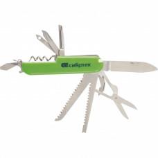 Нож многофункциональный компактный размер 15 функций 90мм Сибртех