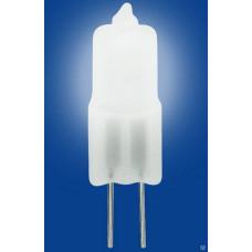 Лампа галогеновая G4 12V 35W матовая JC-12/35/G4 FR Uniel