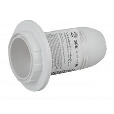 Патрон Е14 термостойкий пластик с кольцом белый Ecola AB4SPWEAY
