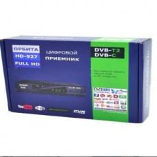 Цифровой Ресивер DVB-T2 Орбита HD 927 + HD плеер (Wi-Fi)