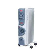 Масляный радиатор напольный с тепловентилятором РЕСАНТА ОМ-7НВ