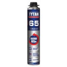 Пена монтажная п/пистолет 750мл летняя Tytan Professional 65