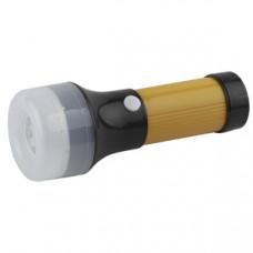 Фонарь ручной пластиковый 2+1LED 3хAA нет в комплекте TВ10S Трофи