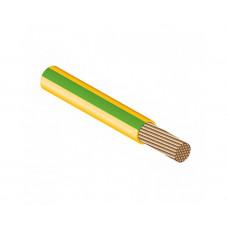 Провод ПУГВ 1х4 желто-зеленый многопров.