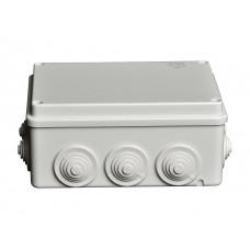 Коробка распаячная д/наружного монтажа 240x190x90мм с гермовводами
