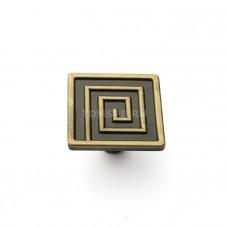Ручка-кнопка 16-031 бронза