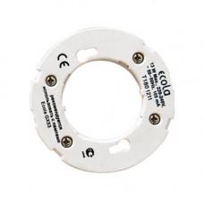 Патрон GX53 б/провода с проходными контактами GX53FPECB Ecola