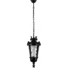 Светильник садово-парковый, 60W 230V E27 черный, IP44, PL4005