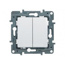 ETIKA Механизм выключателя 2 кл белый Legrand 672202