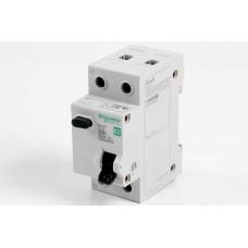 Выключатель автомат дифф.10А 1П+Н 30мА C AC 4,5кА 230В EASY 9 Schneider Electric