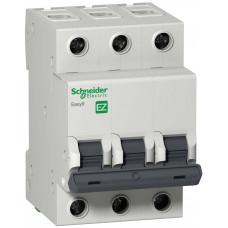 Выключатель автомат. 3Р 16А С 4,5кА 400В EASY 9 Schneider Electric