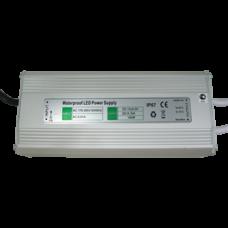 Блок питания для св/д лент 12V 100W IP67 220x50x32 (герметичный)  Ecola
