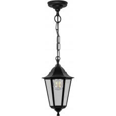 Светильник садово-парковый, 60W 230V E27 черный, НСУ 04-60-001, 32255