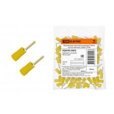 Наконечник НкИШ 4,0-6,0 круглый штырь (100шт/упак) желтый TDM