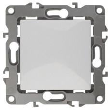 Механизм выключателя 1 кл.б/м.лапок 10АХ-250В белый 12-1001-01 ЭРА