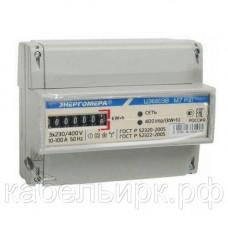 Счетчик электроэнергии ЦЭ6803В трехфазный однотарифный 1 230В 5-60А