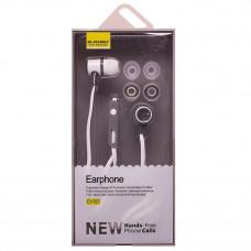 Наушники вакуумные с микрофоном EV122
