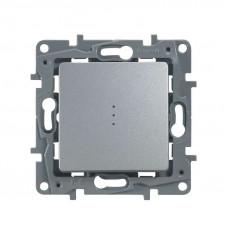 ETIKA Механизм выключателя 1 кл алюминий авт.клеммы Legrand 672401