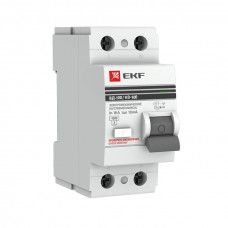 Выключатель дифф.тока (УЗО) 2П 25А 30мА AC EKF