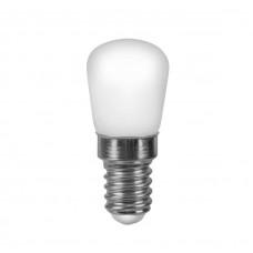 Лампа светодиодная LED 2вт Е14 белый для холодильников