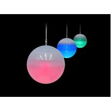 Светильник уличный подвесной КОСМОС SOL103 на солнеч/батарее 3LED RGB