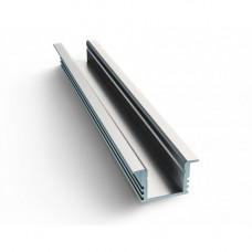 APEYRON профиль прямой встр. для св/д ленты алюм. серебро 2м без рассеив. (3010) 08-02-01