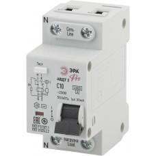 Выключатель автомат. дифф. АВДТ2 С10А 30мA 1Р+N тип АС PRO ЭРА NO-902-137