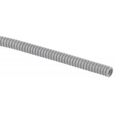Труба гофр.ПВХ 16мм с зондом легкая серая (100м) GOFR-16-100-PVC ЭРА